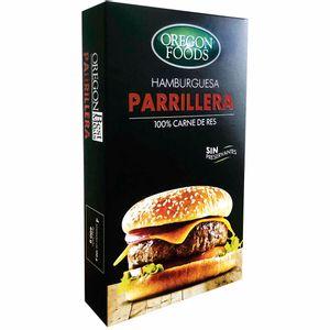Hamburguesa Parrillera BEST MEATS Carne de Res Caja 4un