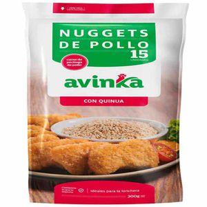 Nuggets de Pollo AVINKA Quinua Doypack 15un