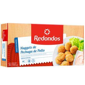 Nuggets de Pechuga de Pollo REDONDOS Bolsa 36un