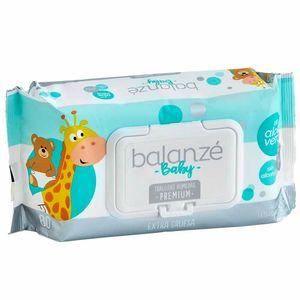 Toallitas Húmedas para Bebé BALANZÉ Premium Paquete 80un