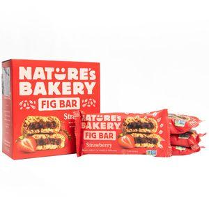 Barras de Higo NATURE'S BAKERY Fresa Caja 6un