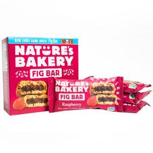 Barras de Higo NATURE'S BAKERY Frambuesa Caja 6un