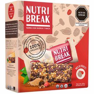 Cereal NUTRI BREAK Orgánico Nueces Barra 25g Caja 6un