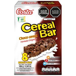 Cereal Bar COSTA Choco Caja 8un