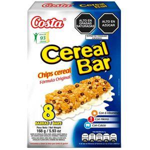 Cereal Bar COSTA Chips Caja 8un
