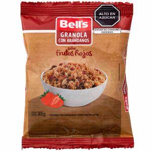Granola con Arándonos BELL'S Doypack 35g